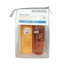 Bioderma Photoderm BRONZ Olej SPF30 200ml + Photoderm MAX Krém SPF50+ neutrálny 40ml
