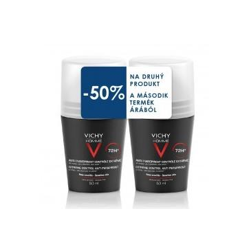 Vichy Homme Deo roll-on men 72h DUO 2x50ml