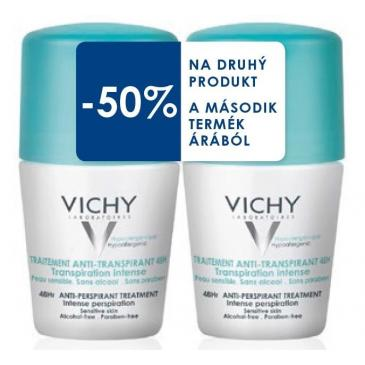 Vichy Deo roll-on anti-transpirant intense 48h DUO 50ml