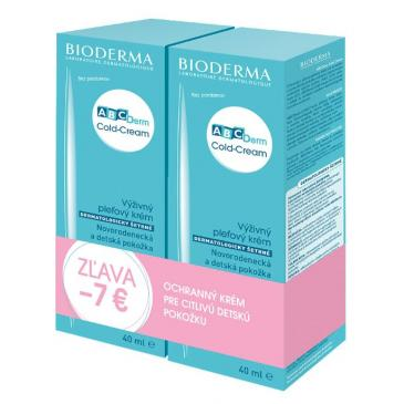Bioderma ABCDerm Cold Cream 2x40ml