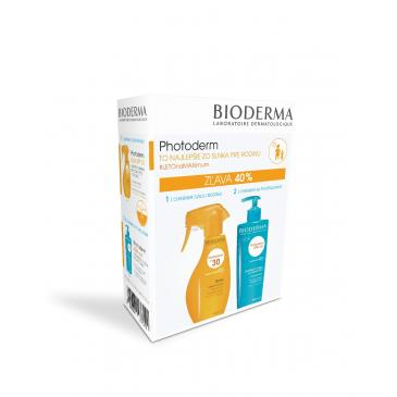 Bioderma Photoderm Sprej SPF 30 400ml + After Sun 500ml