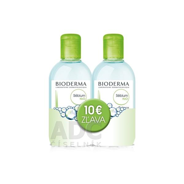 Bioderma Sébium H2O 2x250ml