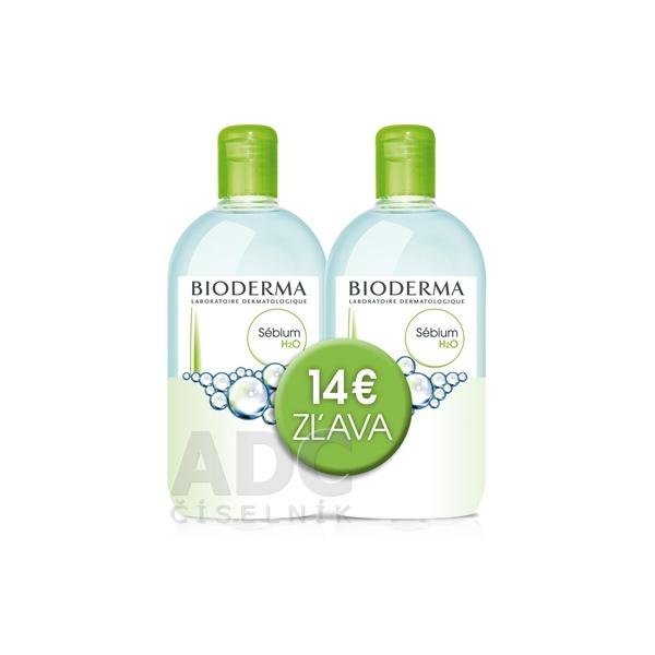 Bioderma Sébium H2O  2x500ml