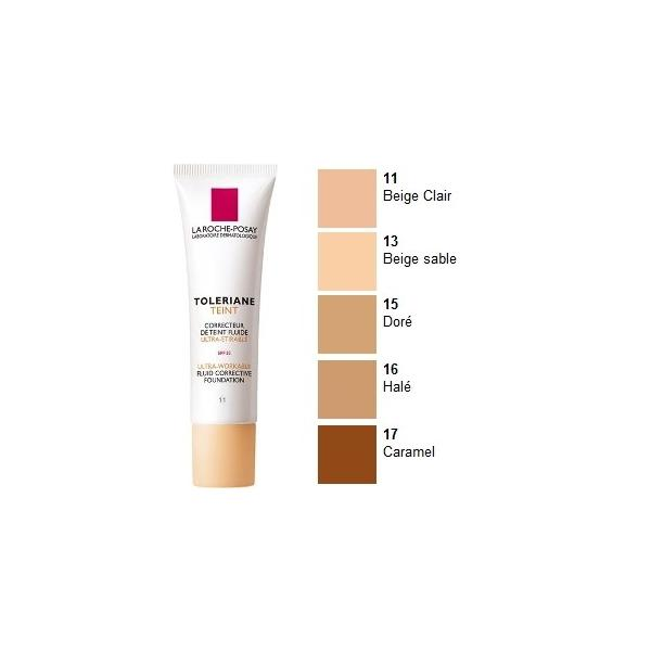 La Roche-Posay Toleriane Teint fluidný korektívny make-up, odtieň 15 golden 30ml